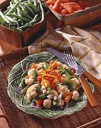 Zesty Mixed Vegetables