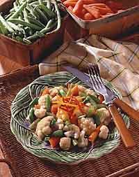 Zesty Mixed Vegetables