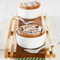 Individual Chocolate Soufflés