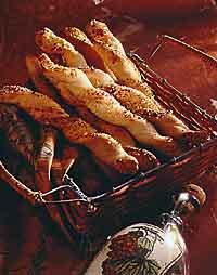 Sesame Italian Breadsticks