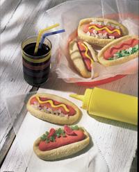 Hot Dog Cookies