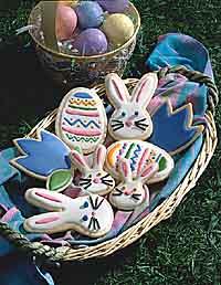 Festive Easter Cookies