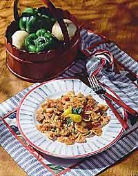 Sausage & Mushroom Pasta