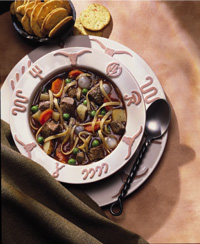 Vegetable Beef Noodle Soup