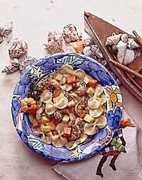 Caribbean Shrimp & Pasta
