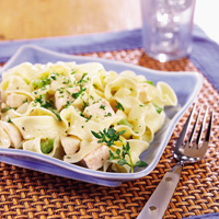 Family-Style Creamy Chicken and Noodles
