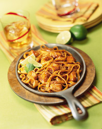 Spicy Mesquite Chicken Fettuccine