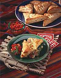 Vegetable Empanadas with Salsa