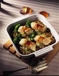 Broccoli-Fish Roll-Ups