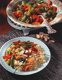 Sweet & Sour Vegetable Couscous