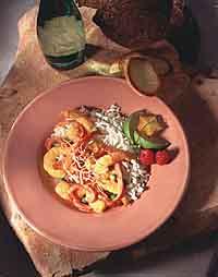 Caribbean Coconut Curry Shrimp