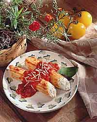 Spicy Manicotti
