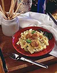 Turkey Meatball & Olive Casserole