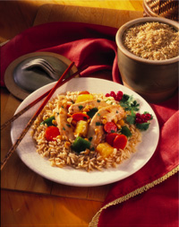 Sweet & Sour Chicken and Rice