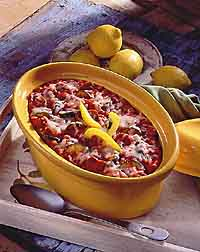 Baked Tomato Risotto