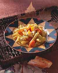 Penne Pasta and Roasted Vegetable Salad