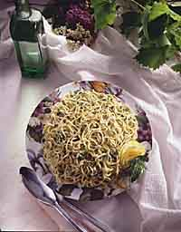 Lemon-Tossed Linguine