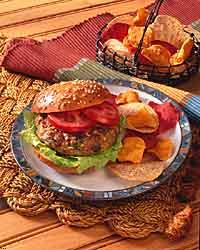 Middle Eastern Vegetable Grain Burger