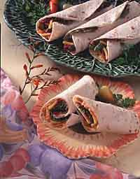 Speedy Garden Roll-Ups