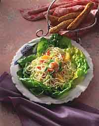 Butterflied Shrimp and Vermicelli Salad