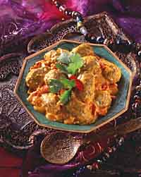 Koftas (Lamb Meatballs in Spicy Gravy)