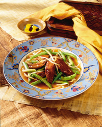 Thai Duck with Beans and Sprouts