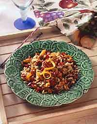 Fruited Wild Rice with Toasted Nuts