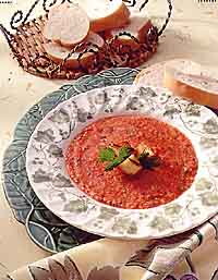 Grilled Summer Gazpacho