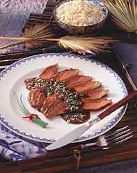 Szechuan Grilled Flank Steak