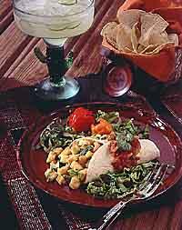 Zesty Zucchini Burrito