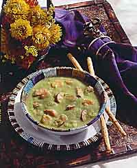 Savory Pea Soup with Sausage