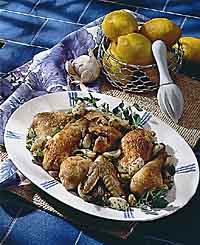 Forty-Clove Chicken