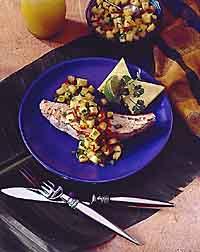 Mahi-Mahi with Fresh Pineapple Salsa