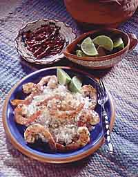 Tequila-Lime Prawns