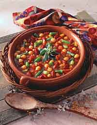 Hot Three-Bean Casserole