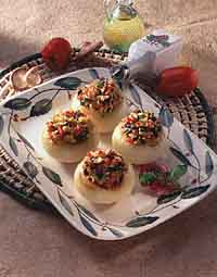 Savory Herb-Stuffed Onions