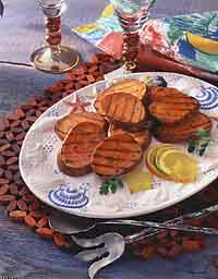 Jamaican Grilled Sweet Potatoes