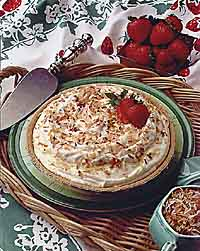 Amaretto Coconut Cream Pie