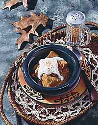 Steamed Southern Sweet Potato Custard