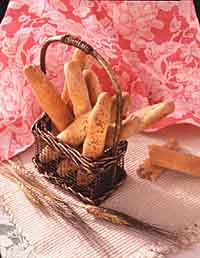 Bran and Honey Rye Breadsticks
