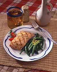 Mesquite-Grilled Salmon Fillet