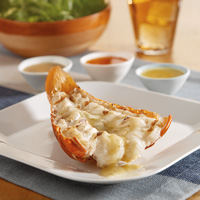 Lobster Tail with Tasty Butters