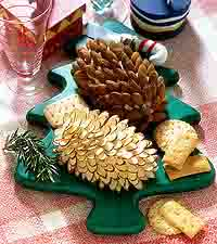 Cheese Pinecones