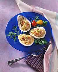 Oysters Romano