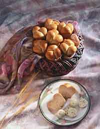 Honey Wheat Brown-and-Serve Rolls
