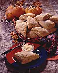 Pumpkin-Ginger Scones