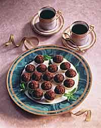 Mint Truffles