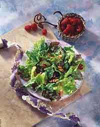 Mixed Greens with Raspberry Vinaigrette