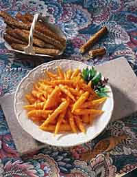 Orange-Spice Glazed Carrots