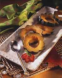 Glazed Maple Acorn Squash